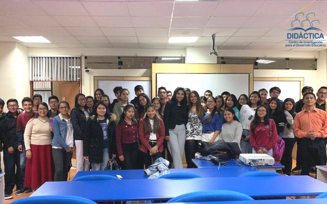 DIDÁCTICA estuvo a cargo del taller para nuevos miembros la Sociedad de Debate de la Universidad Continental