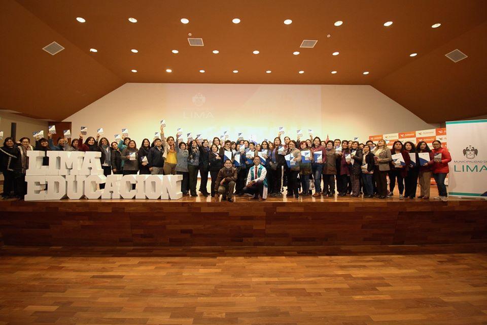 """Participamos en el VI Seminario Descentralizado """"Transformando Escuelas"""" de la MUNILIMA"""