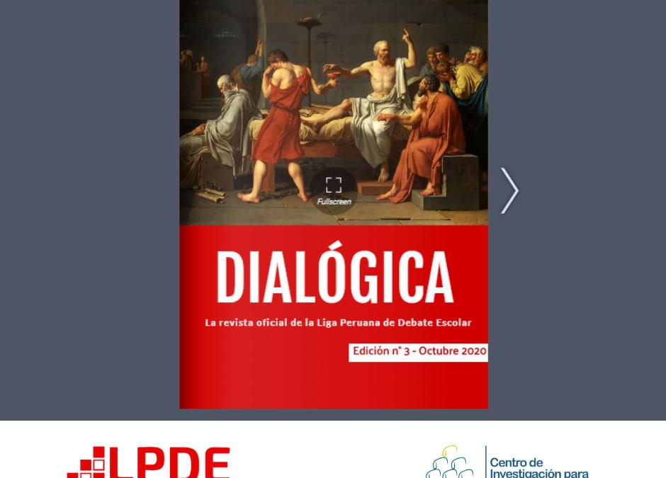 LPDE: LES INVITAMOS A LEER LA TERCERA EDICIÓN DE DIALÓGICA