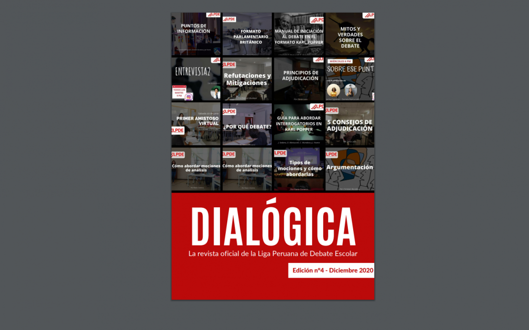 LPDE: Les invitamos a leer la cuarta edición de nuestra Revista Dialógica.
